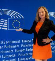 Petra Hock, Evropski Parlament Bruselj