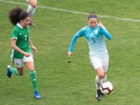 Selma Sabotič iz 1.š na UEFA razvojnem turnirju