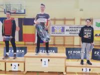 Andraž Pungartnik iz 1.š dosegel pomembne uspehe v badmintonu